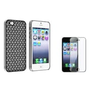Insten® 932681 2-Piece iPhone Case Bundle For Apple iPhone 5/5S/5C