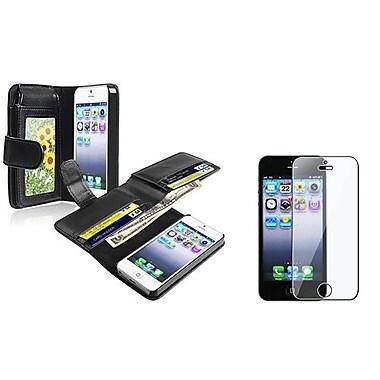 Insten® 932982 2-Piece iPhone Case Bundle For Apple iPhone 5/5S/5C