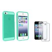 Insten® 933311 2-Piece iPhone Screen Protector Bundle For Apple iPhone 5/5C/5S