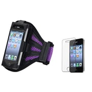Insten® 933694 2-Piece iPhone Armband Bundle For Apple iPod Touch 2nd/3rd Gen/Apple iPhone 4/4S