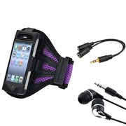 Insten® 933707 3-Piece Universal Armband Bundle For Apple iPod Touch 2nd/3rd Gen
