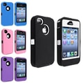 Insten® 937286 4-Piece iPhone Case Bundle For Apple iPhone 4/4S