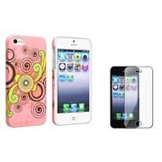 Insten® 942995 2-Piece iPhone Case Bundle For Apple iPhone 5/5S/5C