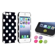 Insten® 949899 2-Piece iPhone Case Bundle For Apple iPhone 5/5S, Apple iPhone/iPad/iPod Touch