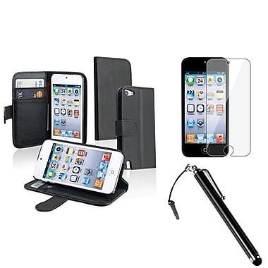 Insten® 962717 3-Piece MP3 Case Bundle For Apple iPod Touch 5th Gen