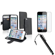 Insten® 962717 3-Piece MP3 Case Bundle For Apple iPod Touch 5th Gen