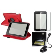 Insten® 967409 3-Piece Tablet Case Bundle For Barnes & Noble Nook HD