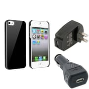 Insten® 969871 3-Piece iPhone Car Charger Bundle For Apple iPhone 5/5S