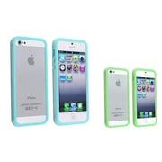 Insten® 975396 2-Piece iPhone Case Bundle For Apple iPhone 5/5S