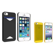 Insten® 980864 2-Piece iPhone Case Bundle For Apple iPhone 5/5S/5C