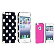 Insten® 981850 2-Piece iPhone Case Bundle For Apple iPhone 5/5S