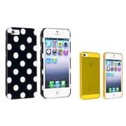 Insten® 981877 2-Piece iPhone Case Bundle For Apple iPhone 5/5S
