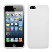 Insten® Solid Skin Case F/iPhone 5/5S, Translucent White