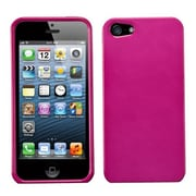 Insten® Phone Protector Cover F/iPhone 5/5S, Solid Hot-Pink