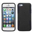 Insten® Astronoot Phone Protector Cover F/iPhone 5/5S, Black/Black