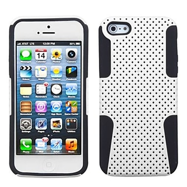 Insten® Astronoot Phone Protector Cover F/iPhone 5/5S, White/Black