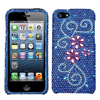 Insten® Diamante Protector Cover F/iPhone 5/5S, Juicy Flower