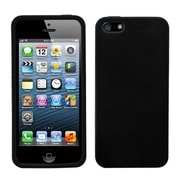 Insten® Solid Skin Case F/iPhone 5/5S, Black