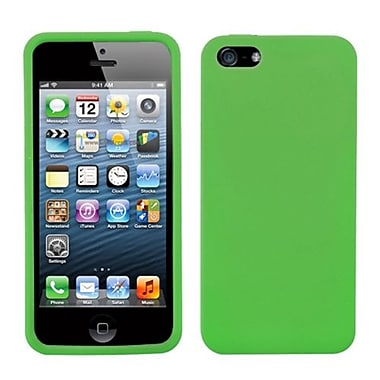 Insten® Solid Skin Case iPhone 5/5S, Dr Green