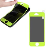 Insten® Coating Screen Protector For iPhone 5, Tender Green