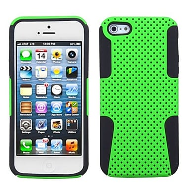 Insten® Astronoot Phone Protector Cover F/iPhone 5/5S, Green/Black