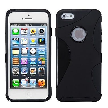 Insten® Cragsman Mixy Rubberized Phone Protector Covers F/iPhone 5/5S