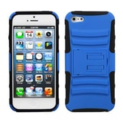 Insten® Protector Cover W/Advanced Armor Stand F/iPhone 5/5S, Dark Blue/Black