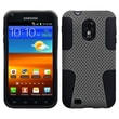 Insten® Astronoot Phone Protector Case For Samsung Epic 4G Touch/Galaxy S II, Gray/Black