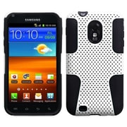 Insten® Astronoot Protector Cover Case For Samsung Galaxy S II, R760, D710, White/Black