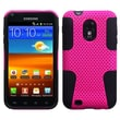 Insten® Astronoot Phone Protector Case For Samsung Epic 4G Touch/Galaxy S II, Hot-Pink/Black