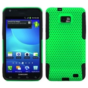 Insten® Astronoot Phone Protector Case For Samsung I777 Galaxy S2, Green/Black