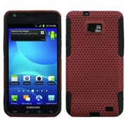 Insten® Astronoot Phone Protector Case For Samsung I777 Galaxy S2, Red/Black
