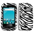 Insten® Skin Phone Protector Case For Samsung I857 (DoubleTime), Zebra
