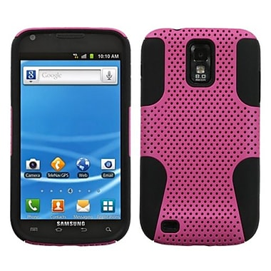 Insten® Astronoot Phone Protector Case For Samsung T989 Galaxy S2, Hot-Pink/Black