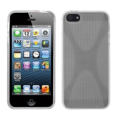 Insten® Argyle Candy Skin Cover F/iPhone 5/5S, T-Clear X Shape