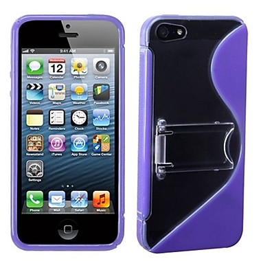 Insten® Gummy Covers W/Stand F/iPhone 5/5S