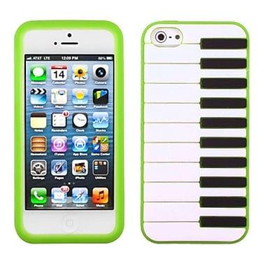 Insten® Pastel Skin Cover F/iPhone 5/5S, Dark Green