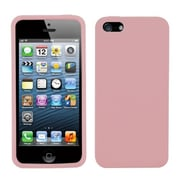 Insten® Solid Skin Cover F/iPhone 5/5S, Pink