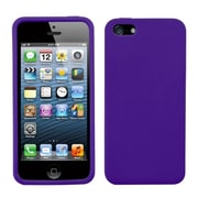 Insten® Solid Skin Case F/iPhone 5/5S, Dr Purple