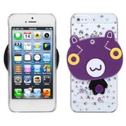 Insten® Crystal 3D Mirror Diamante Back Protector Cover F/iPhone 5/5S, Cartoon Bear