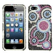 Insten® Diamante Protector Cover F/iPhone 5/5S, Bubble