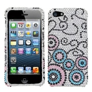 Insten® Diamante Protector Cover F/iPhone 5/5S, Bubble Flow
