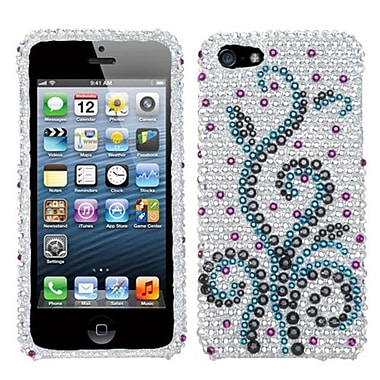 Insten® Diamante Protector Cover F/iPhone 5/5S, Frosty