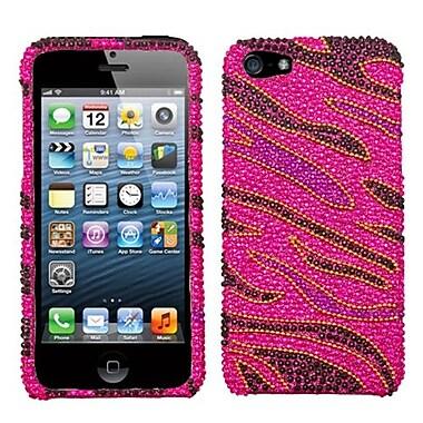 Insten® Diamante Phone Protector Cover F/iPhone 5/5S, Rocker