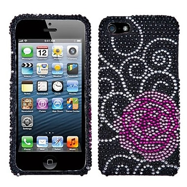 Insten® Diamante Phone Protector Cover F/iPhone 5/5S, Rosey
