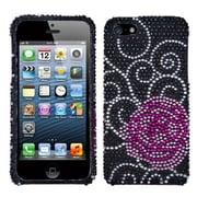 Insten® Diamante Phone Protector Cover F/iPhone 5/5S, Rosey