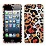 Insten® Phone Protector Cover F/iPhone 5/5S, Orange Cheetah