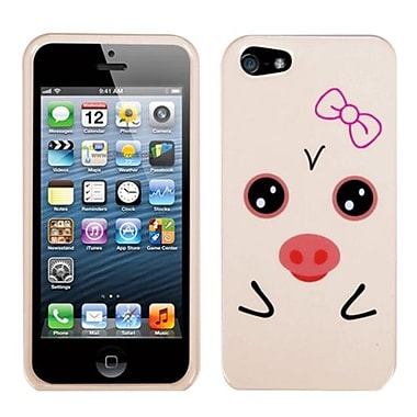 Insten® Phone Protector Cover F/iPhone 5/5S, Hungry Piggy