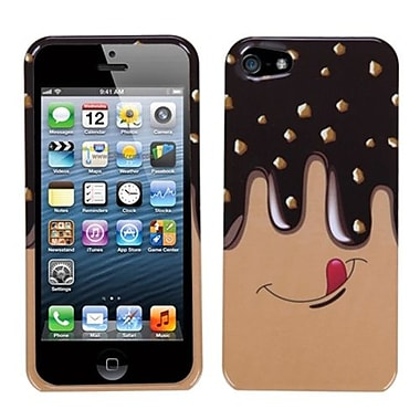 Insten® Phone Protector Cover F/iPhone 5/5S, Fudge Delight