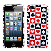Insten® Phone Protector Cover F/iPhone 5/5S, Card Suits